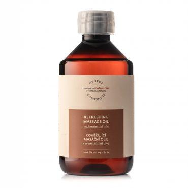 Botanicue - Osvěžující masážní olej s esenciálními oleji