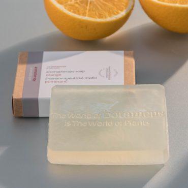 Botanicus - Aromaterapeutické mýdlo pomeranč_LF