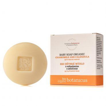 Botanicus - Bio dětské mýdlo s heřmánkem a měsíčkem