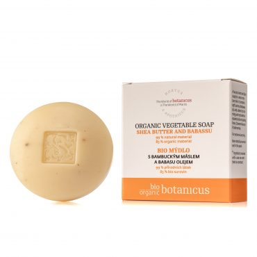Botanicus - Bio mýdlo s bambuckým máslem a babassu olejem