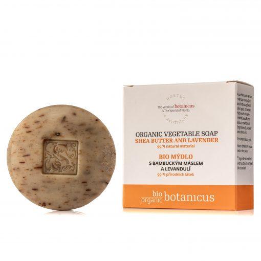 Botanicus - Bio mýdlo s bambuckým máslem a levandulí