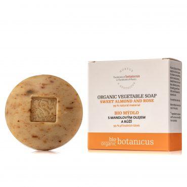 Botanicus - Bio mýdlo s mandlovým olejem a růží