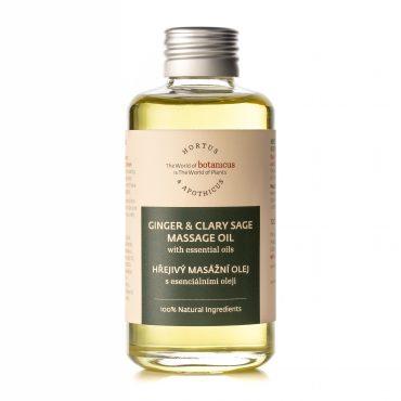 Botanicus - Hřejivý masážní olej s esenciálními oleji