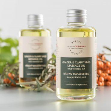 Botanicus - Hřejivý masážní olej s esenciálními oleji_LF