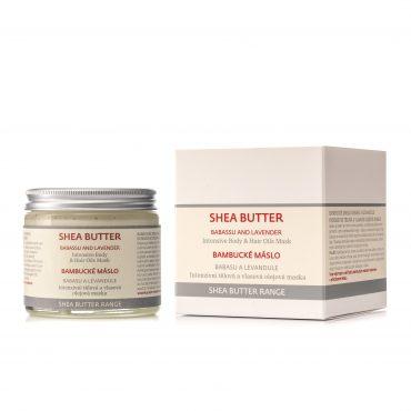 Botanicus Intenzivní tělová a vlasová olejová maska z bambuckého másla / babasu a levandule