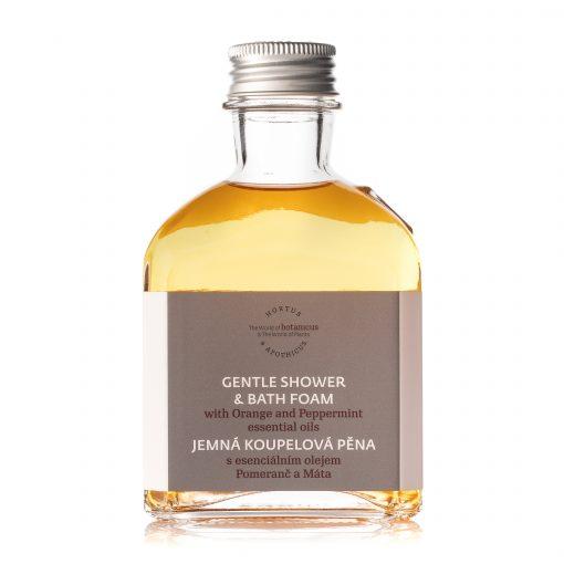Botanicus - Jemná koupelová pěna s esenciálním olejem pomeranč a máta