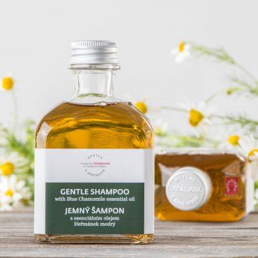 Botanicus - Jemný šampon s esenciálním olejem heřmánek modrý_LF