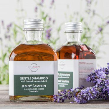 Botanicus - Jemný šampon s esenciálním olejem lavandin_LF