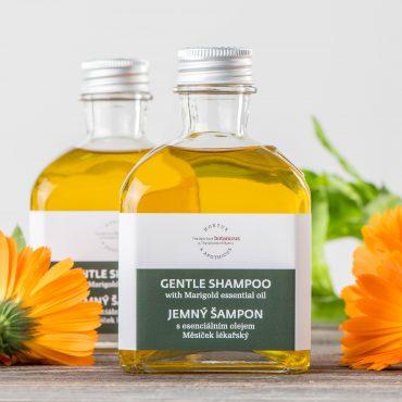 Botanicus - Jemný šampon s esenciálním olejem měsíček lékařský-LF