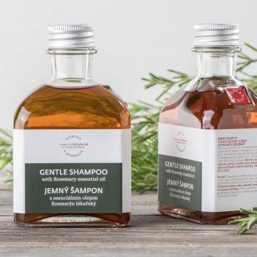 Botanicus - Jemný šampon s esenciálním olejem rozmarýn lékařský_LF