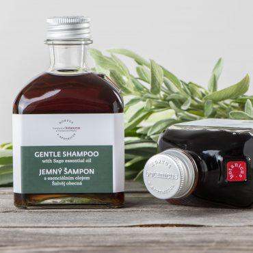Botanicus - Jemný šampon s esenciálním olejem šalvej obecná_LF