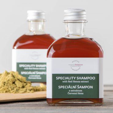 Botanicus - Jemný šampon s extrakte červená hena-LF