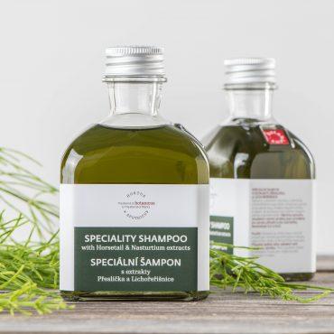 Botanicus - Jemný šampon s extraktem přeslička a lichořeřišnice_LF