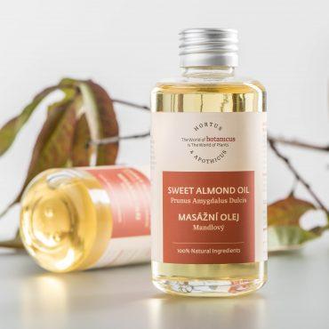 Botanicus - Masážní olej mandlový_LF