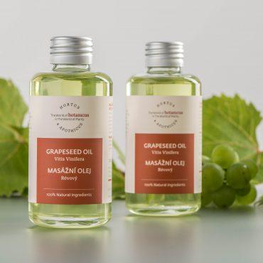 Botanicus - Masažní olej révový_LF