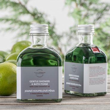 Botanicus - Speciální koupelová pěna s esenciálním olejem limeta_195ml_LF
