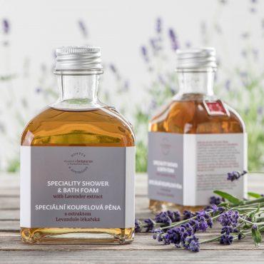 Botanicus - Speciální koupelová pěna s extraktem levandule lékařské_195ml_LF