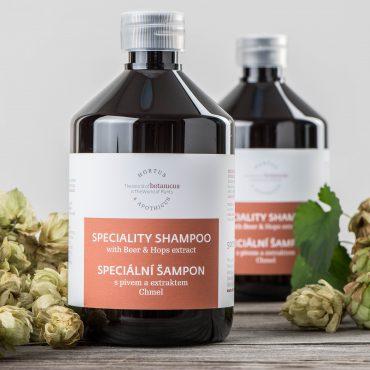 Botanicus - Speciální šampon s pivem a extraktem chmel 500ml