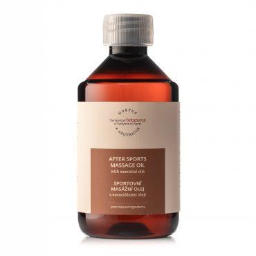 Botanicus- Sportovní masážní olej s esenciálními oleji
