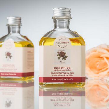 Botanicus jemný koupelový olej s esenciálním olejem Růže_LF_1