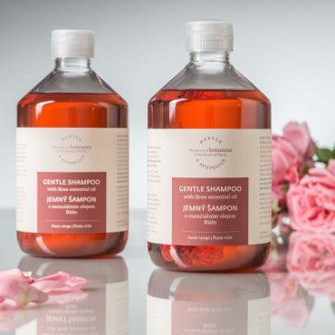 Botanicus jemný šampon s esenciálním olejem Růže_LF