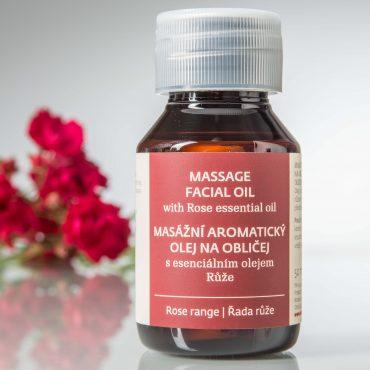 Botanicus masážní aromatický olej na obličej s esenciálním olejem Růže_LF