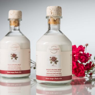 Botanicus obohacené mléko s esenciálním olejem Růže_LF