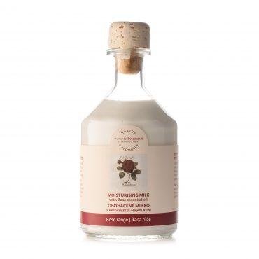 Botanicus obohacené tělové mléko s esenciálním olejem Růže