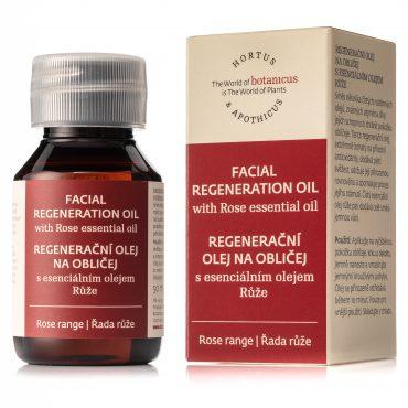Botanicus regenerační olej na obličej s esenciálním olejem Růže