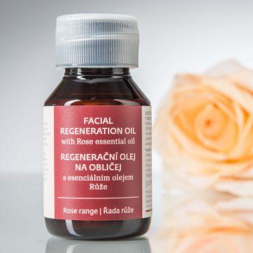 Botanicus regenerační olej na obličej s esenciálním olejem Růže_LF