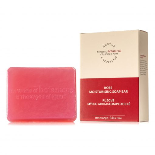 Botanicus růžové mýdlo aromaterapeutické