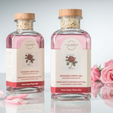 Botanicus sprchový a koupelový gel s esenciálním olejem Růže_LF
