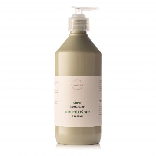 Botanicus - tekuté mýdlo s mátou