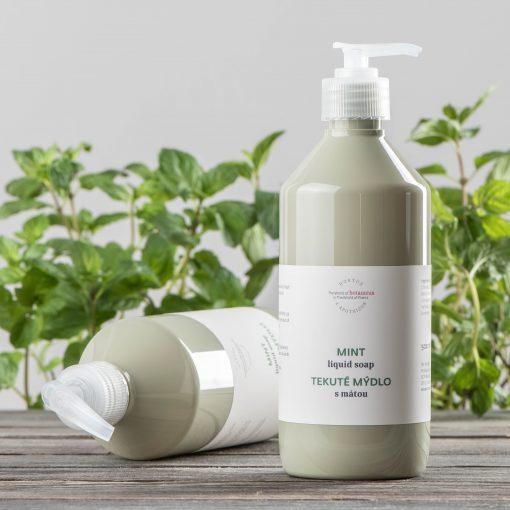 Botanicus - tekuté mýdlo s mátou_LF