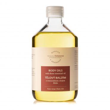 Botanicus tělový balzám s esenciálním olejem Růže