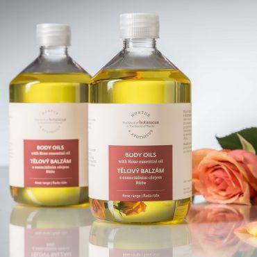 Botanicus tělový balzám s esenciálním olejem Růže_LF