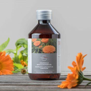 Botanicus koupelový a sprchový gel s měsíčkem_LF