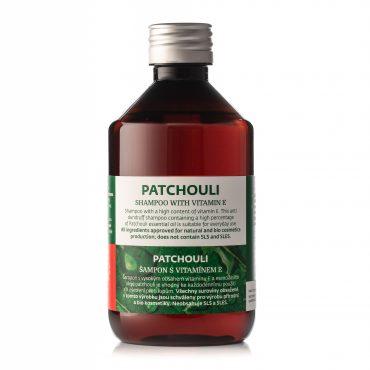Patchouli šampon s vitamínem E